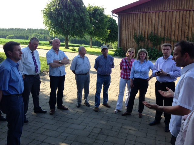 CDU-Kreisvorstand im Gespräch auf dem Lindenhof in Dormettingen
