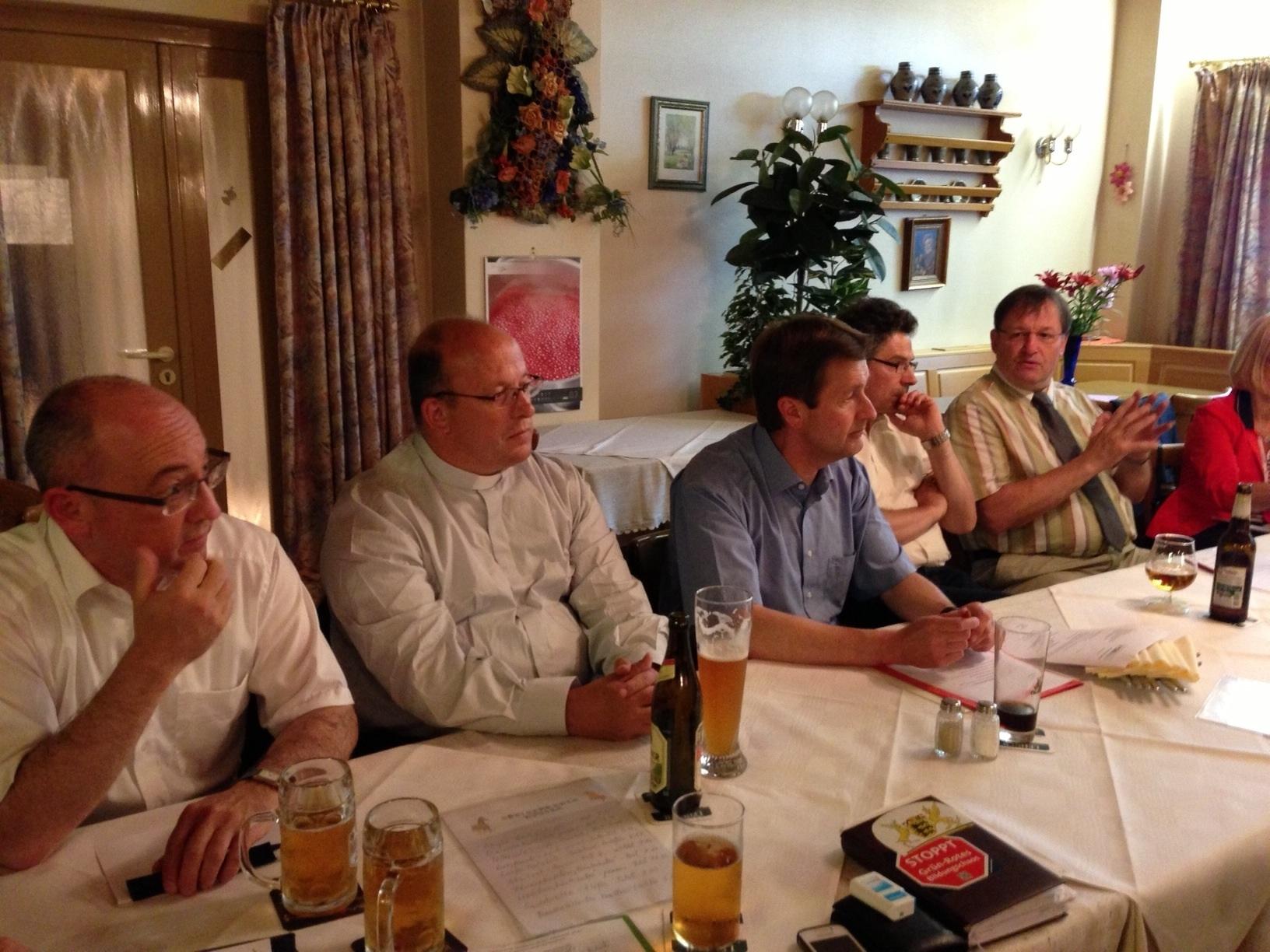 Diskussionsrunde des CDU-Kreisvorstands mit Kirchenvertretern