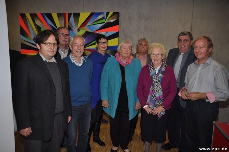 Aus zwei CDU-Ortsverbänden mach einen CDU-Stadtverband unter Vorsitz von Günther Seeger (Zweiter von rechts).