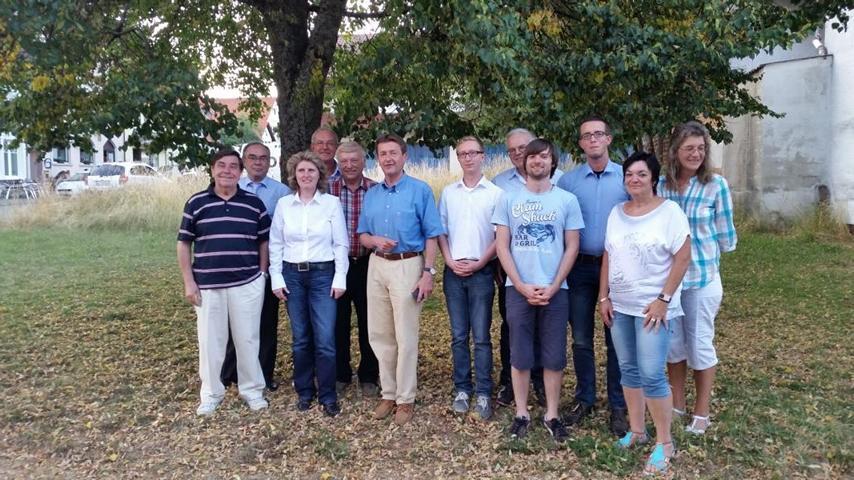 Foto: Fritsch       Auf dem Foto fehlen: Ralf Bay, Johann Wessner, Emil Oswald und Jannik Kleinmann